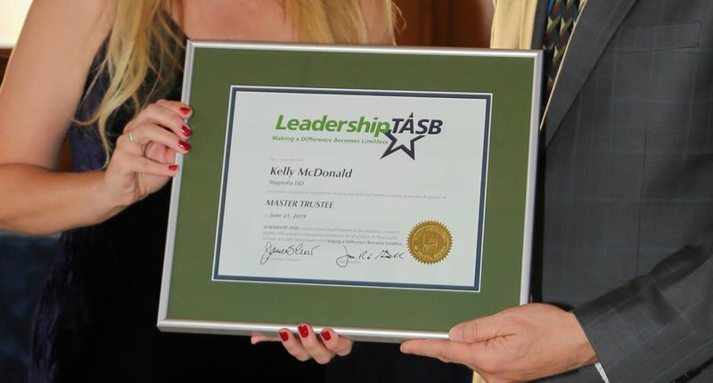 image of the Leadership TASB certificate