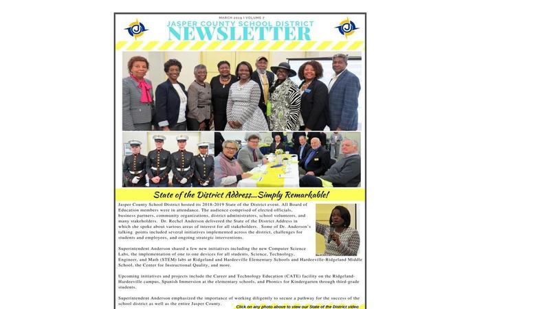 JCSD Newsletter Volume 7 Featured Photo
