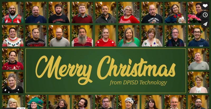 Technology Christmas Card 2020