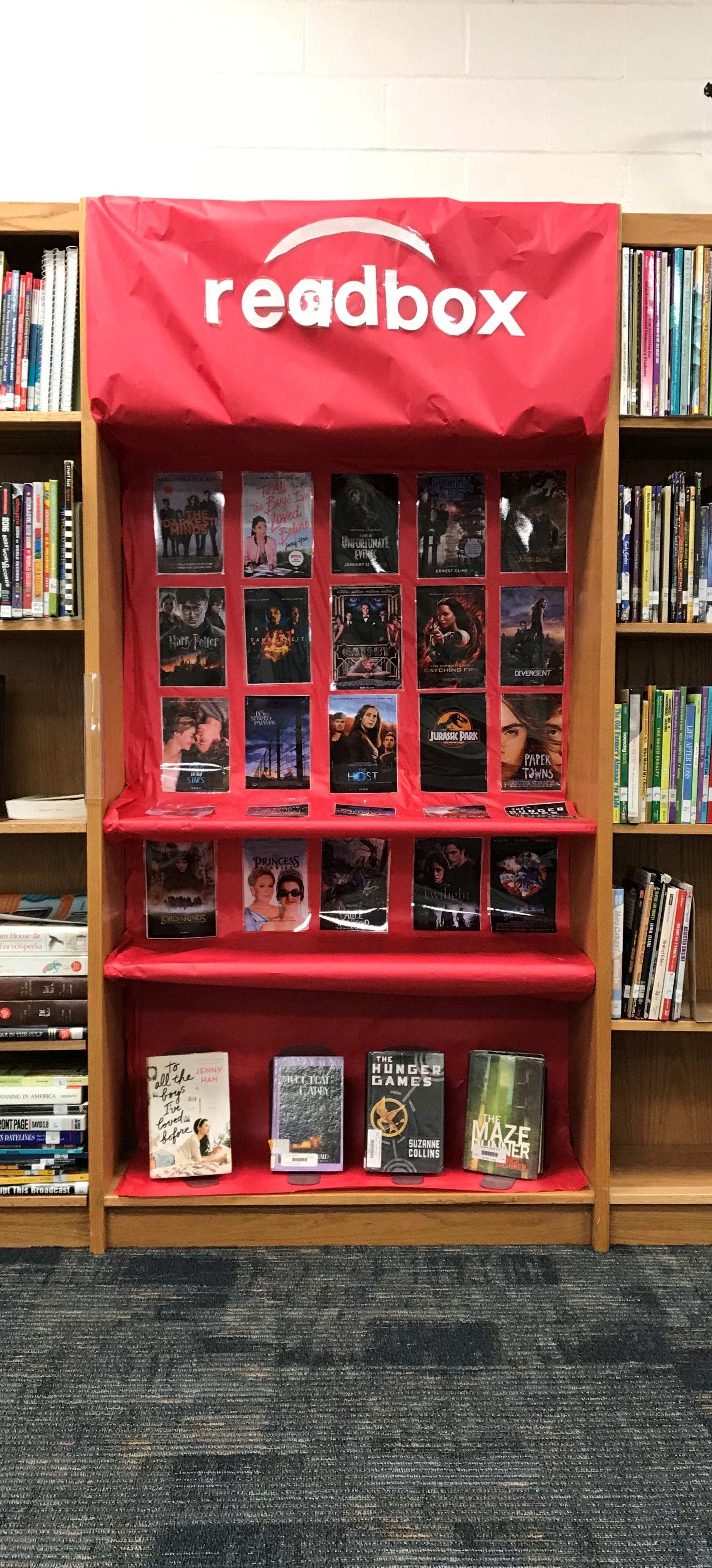 Readbox: Books to the Big Screen