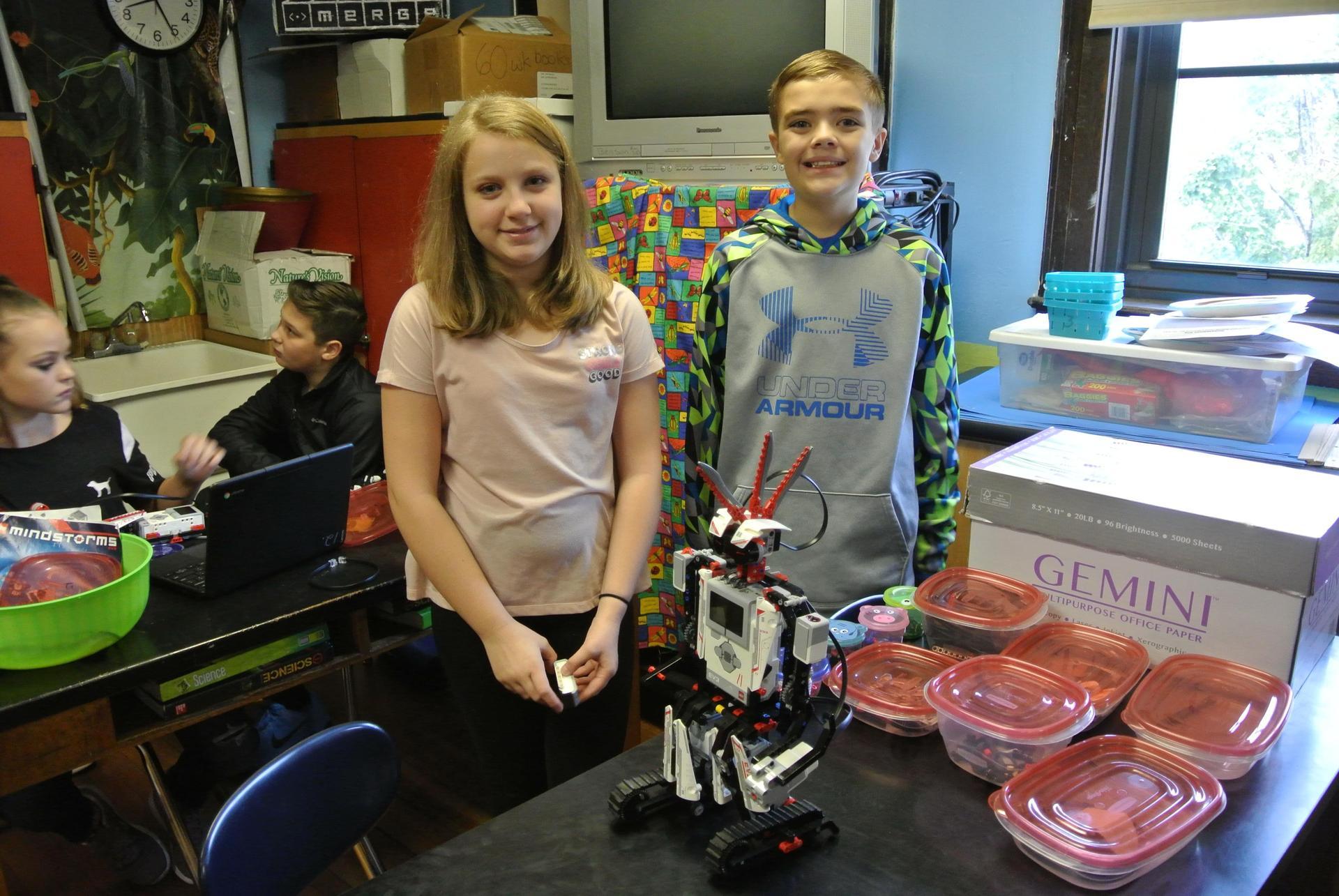 Mrs. Benson and LEGO Robotics