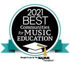This is the logo for Best Communities for Music Education Award that FCSD received.