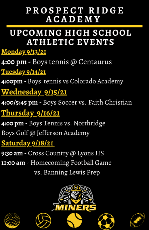 Upcoming High School Athletic Events Thumbnail Image