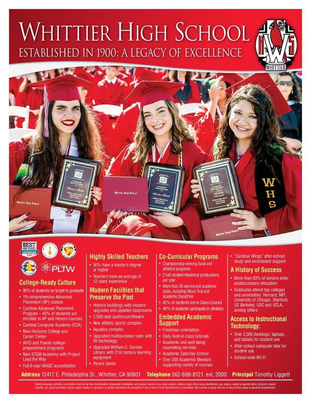 WUHSD Schools to Host Night for Future Freshmen March 21 Featured Photo