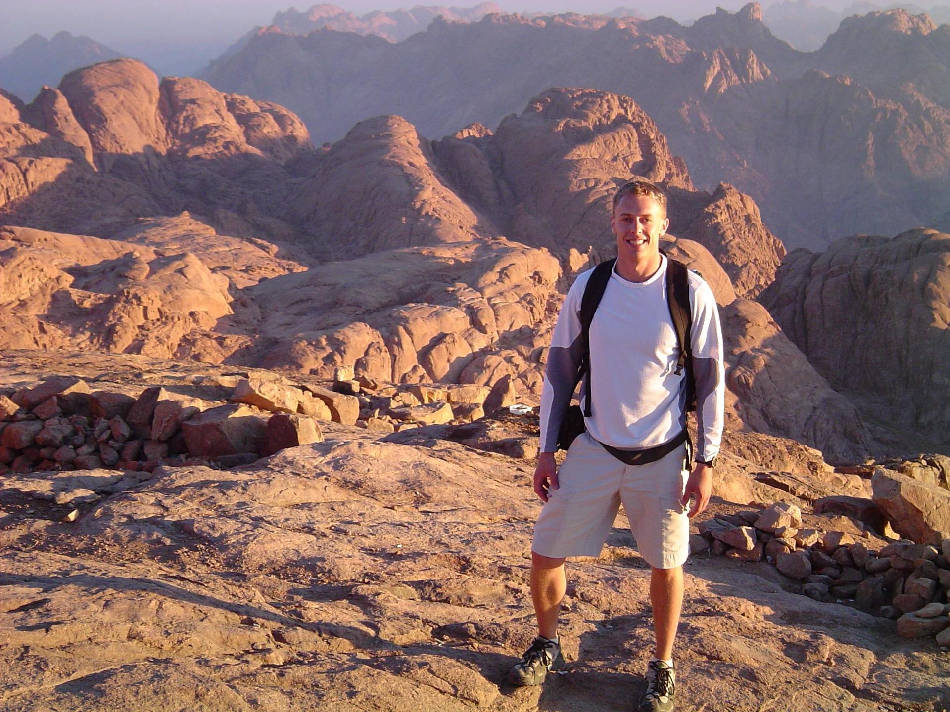 Jebel Musa (Mt. Sinai), Egypt