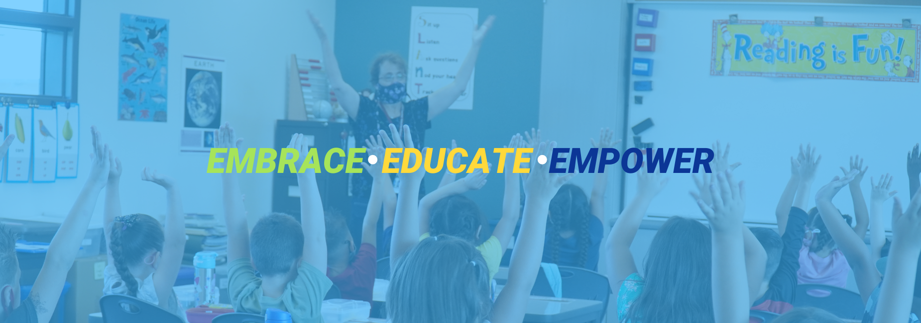 embrace educate empower