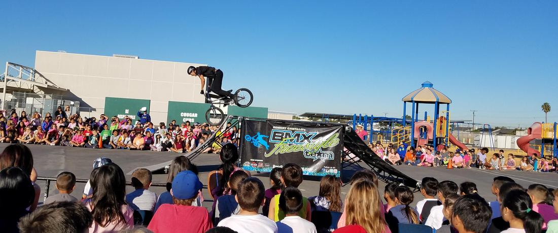 Red Ribbon BMX Bike Assembly