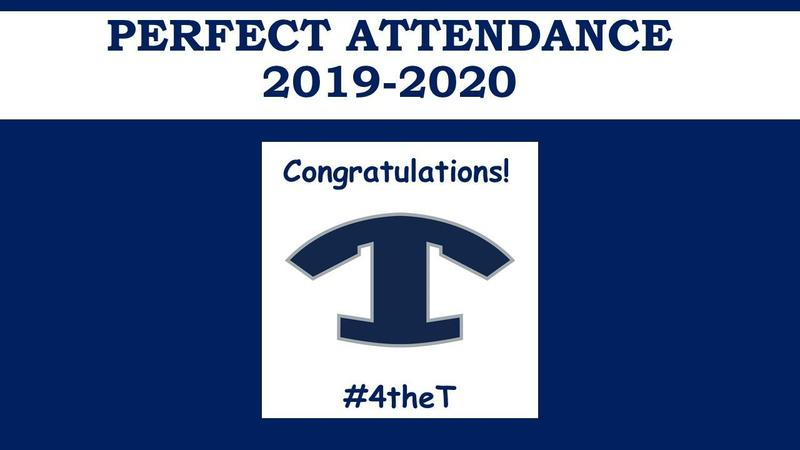 Congratulations 2019-2020 Students with Perfect Attendance Featured Photo
