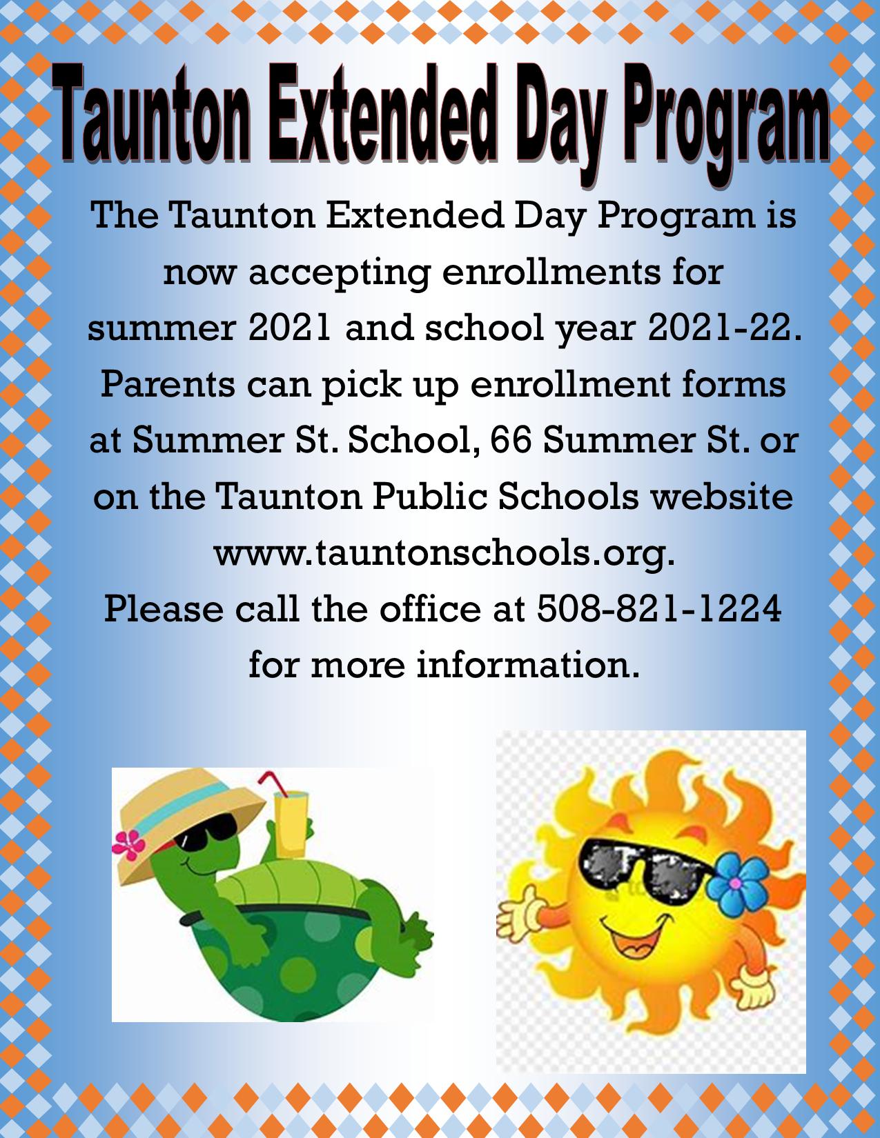 2021 Extended Day Summer Program