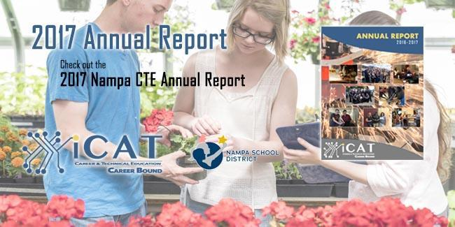 Nampa CTE Releases the 2017 Annual Report