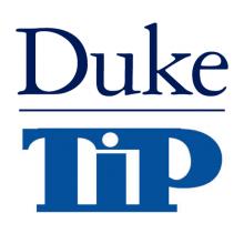 Duke Talent Identification Program Logo