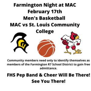 Farmington Night At MAC