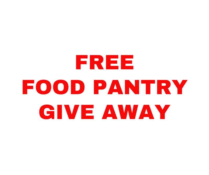 Food Pantry Give Away