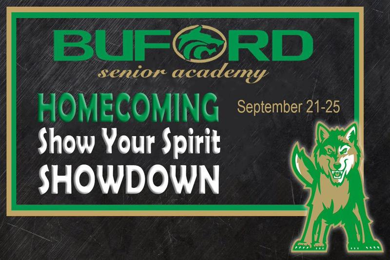 Homecoming Show Your Spirit showdown