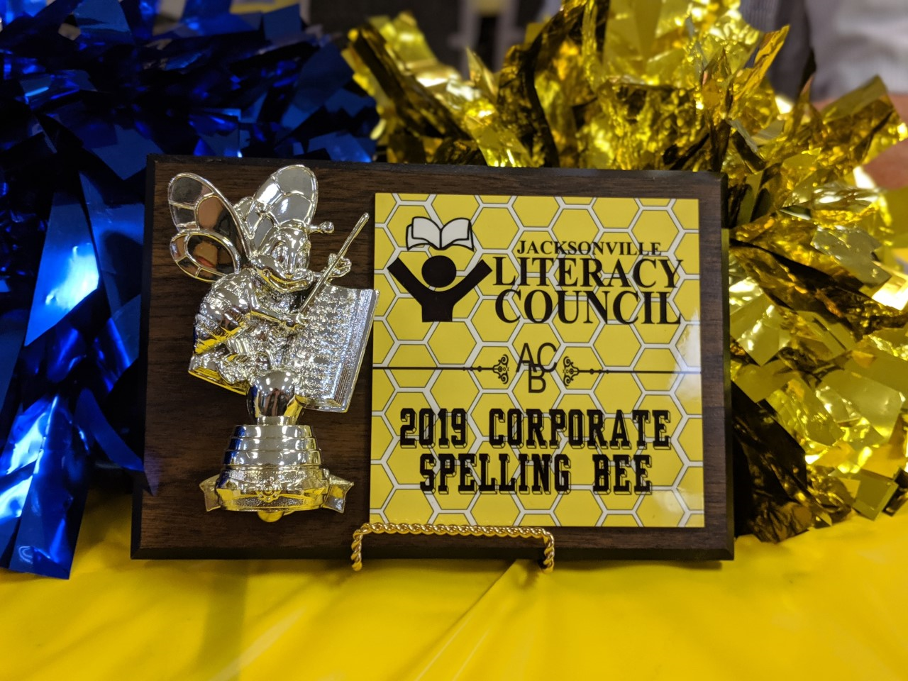 Spelling Bee plaque