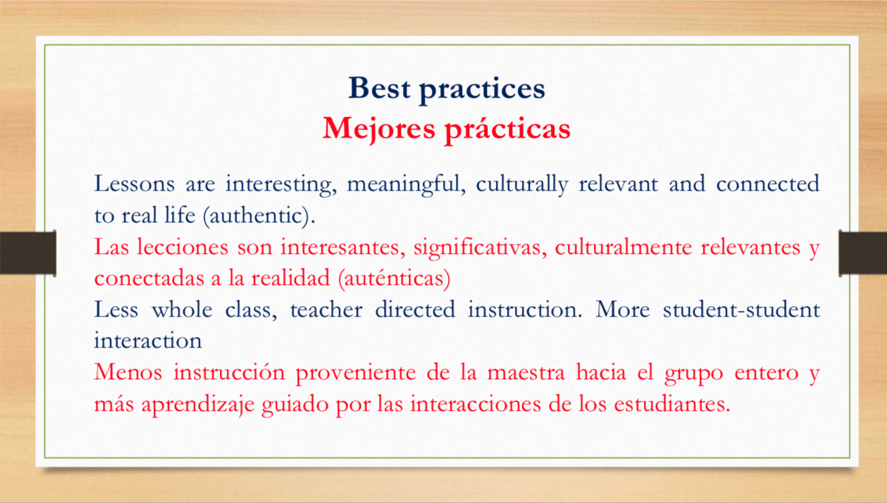 Dual language slide 15