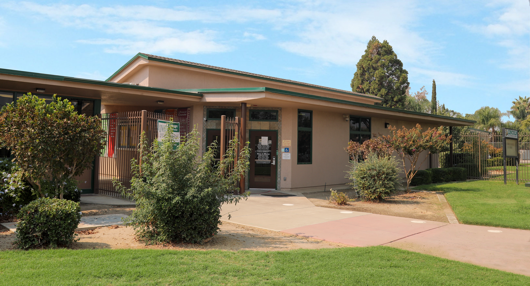 Lincoln School Front Office