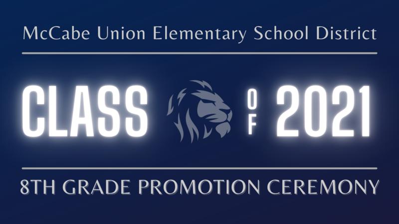 8th Grade Promotion Program Thumbnail Image