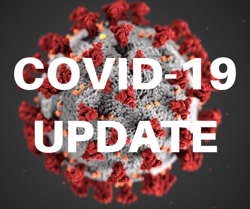 Covid Update Graphic