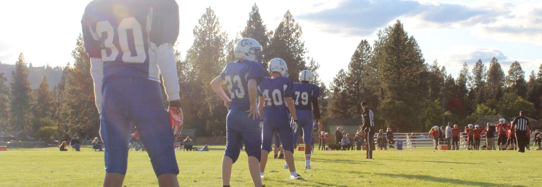 North Pines Football Team