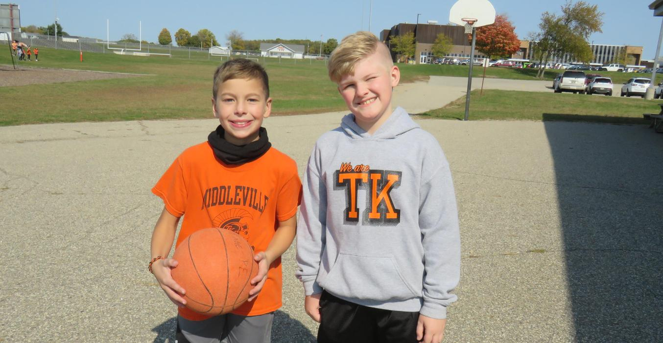 Page students proudly wear the TK attire during spirit week.