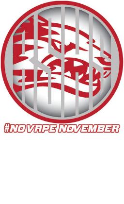 No Vape November logo