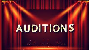 Auditions banner