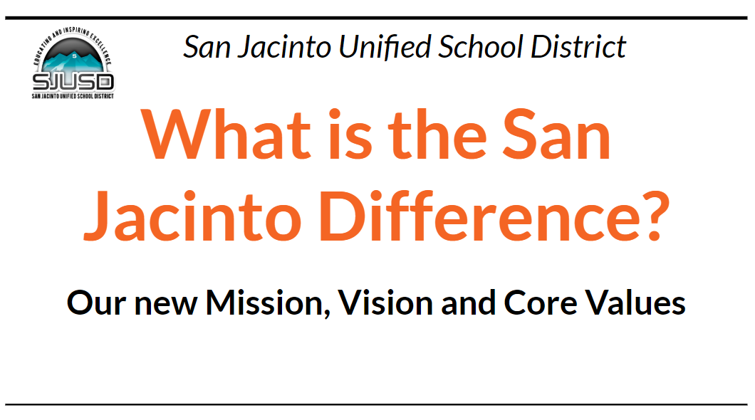 What is the San Jacinto Difference?