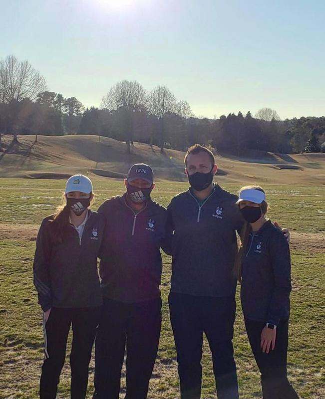 Anna Wicklum and Madison Chauvin finished 12th of 48 in a stacked 2-girl best ball format called the Lady Wolves Invitational at Bear's Best Atlanta in Suwanne, GA.