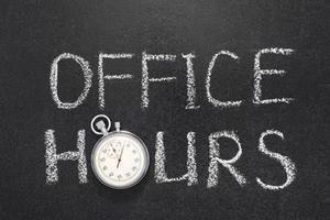 Ardmore Office Hours