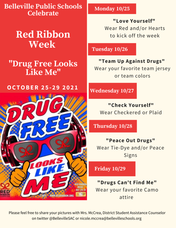 Red Ribbon Week 10/25/2021 - 10/29/2021 Featured Photo