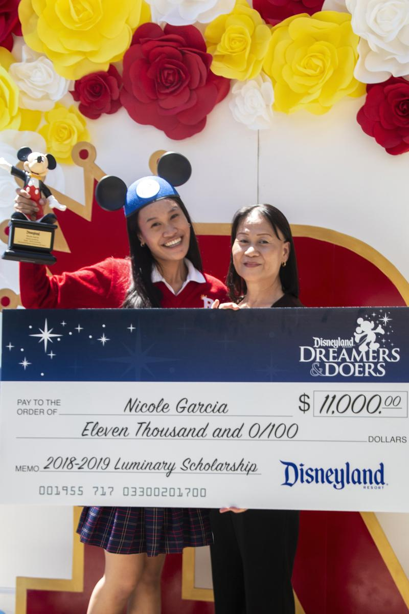 "Nicole Garcia named a Disneyland Resort Dreamers & Doers ""Luminary"" Featured Photo"