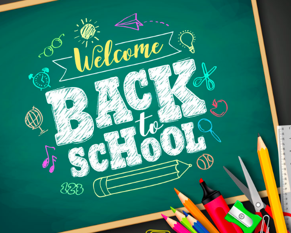 Clip art of Back to School