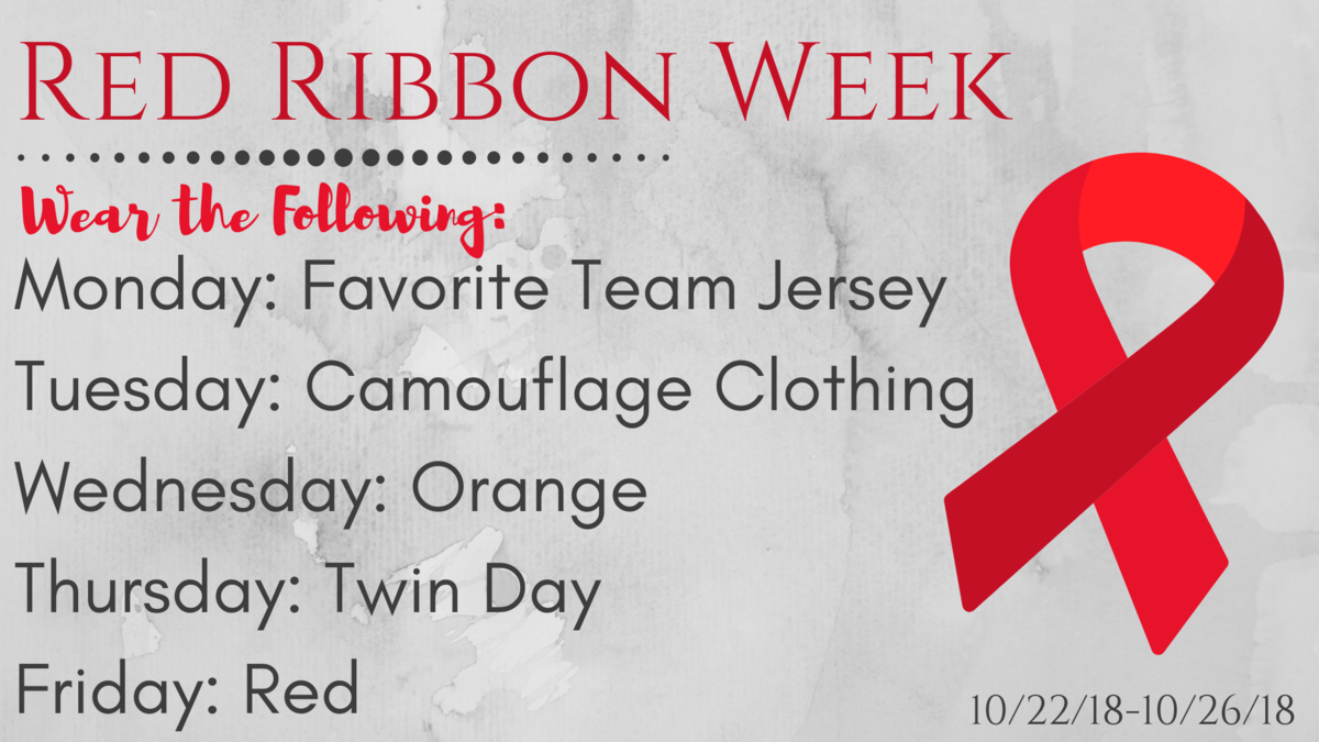 We're Kicking Off Red Ribbon Week! Featured Photo