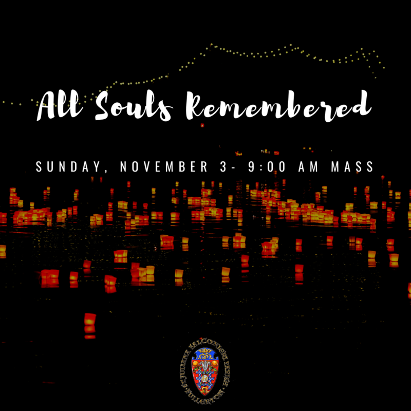 All Souls Remembered Featured Photo