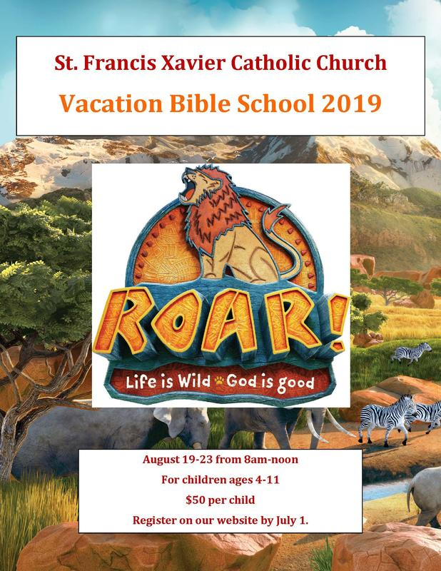 Vacation Bible School for ages 4-11 this summer! Thumbnail Image