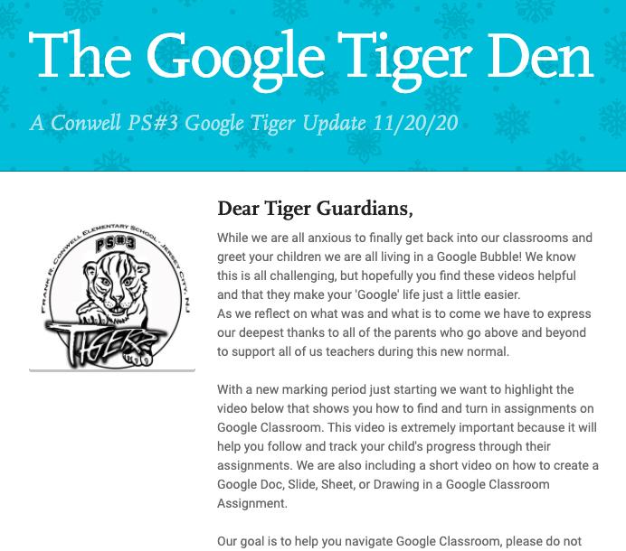 Google Tiger Den Featured Photo