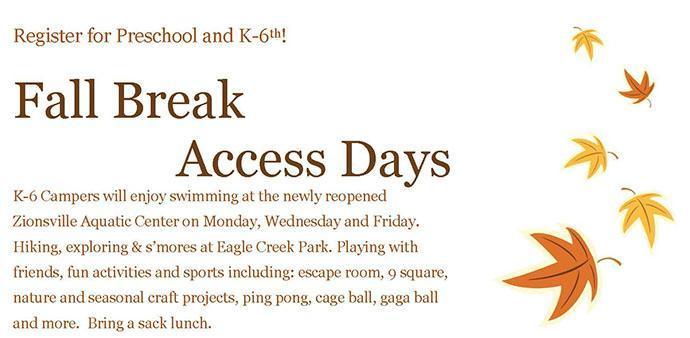 Fall break access