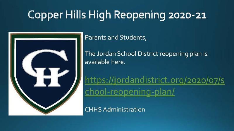 Reopening Plan 2020-21