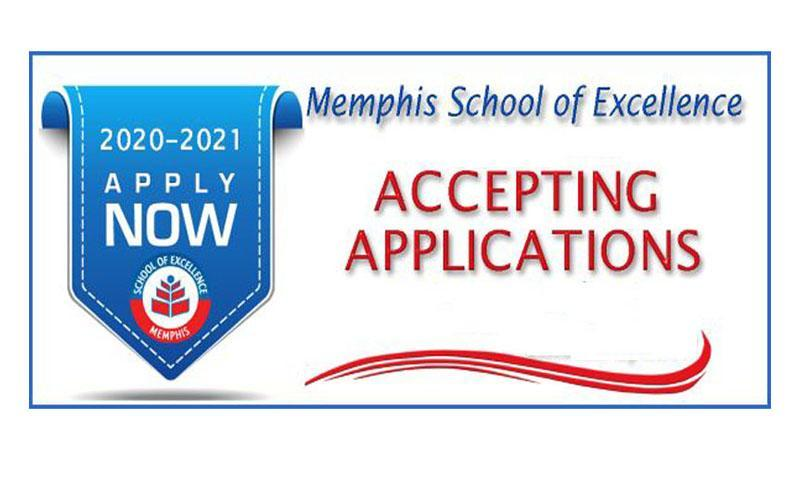 Memphis School of Excellence Student Application Forms