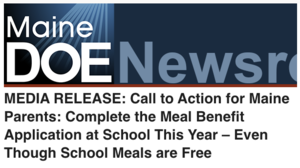 DOE Media release