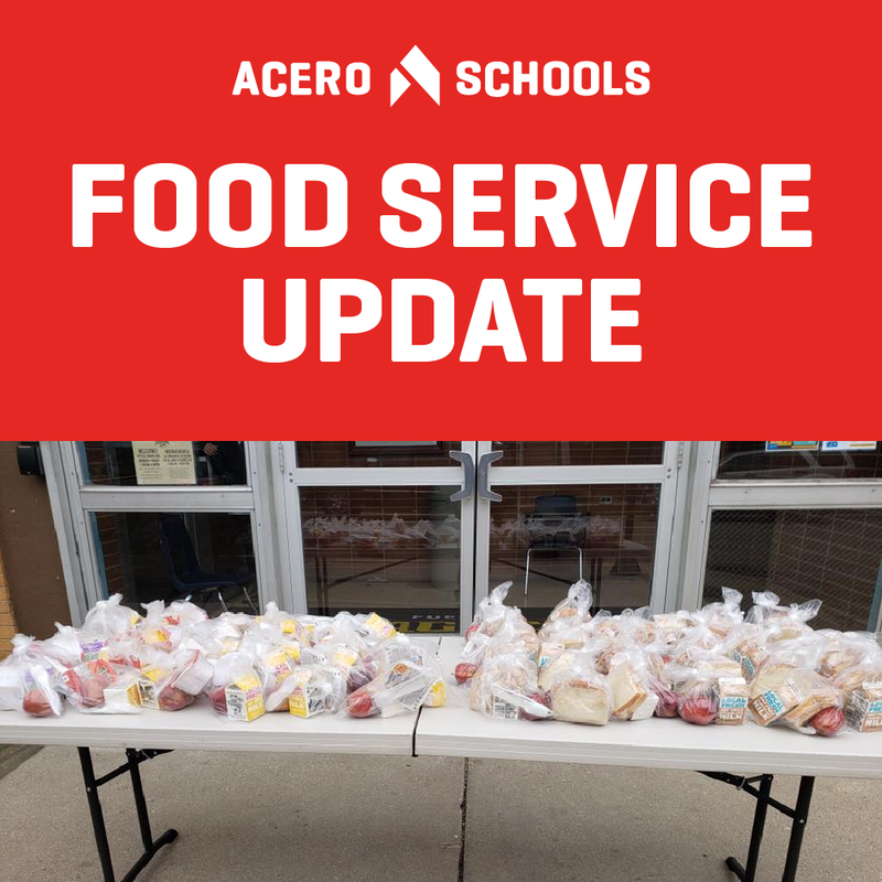 Food Service Update: Thanksgiving. Click the link to learn more.