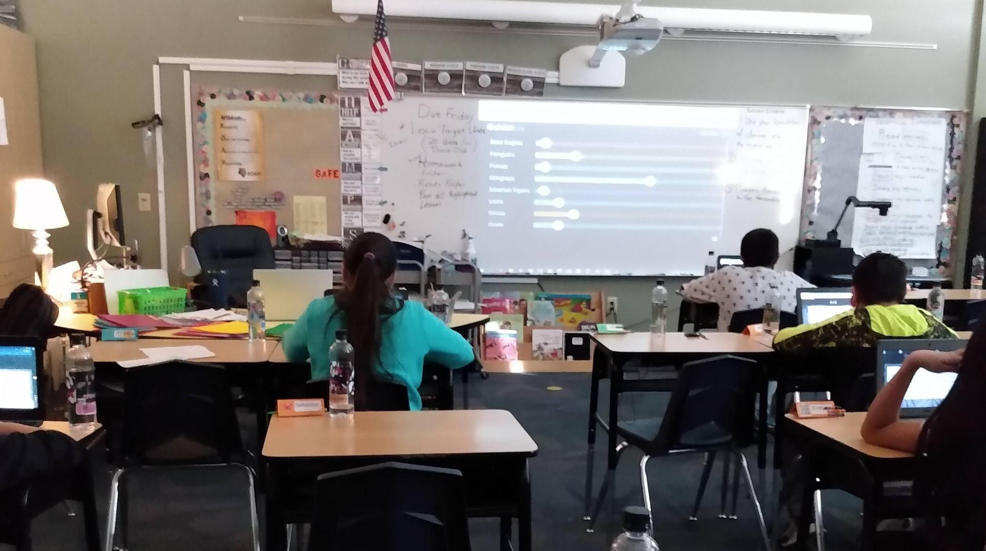 Students Using Quizlet