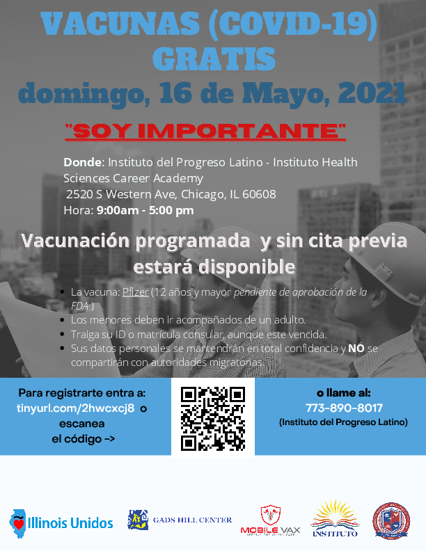 COVID 19 - Offering Vaccine Shots / Ofreciendo Vacunas - May 16th! Featured Photo