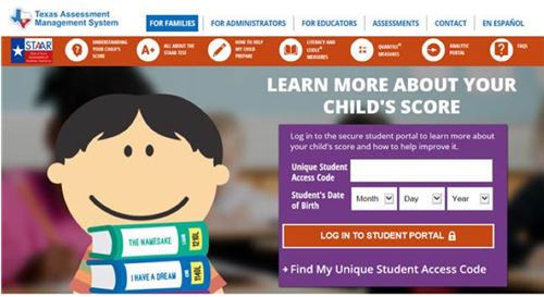 Accessing STAAR Test Results & Frequently Asked Questions (English and Spanish) Featured Photo