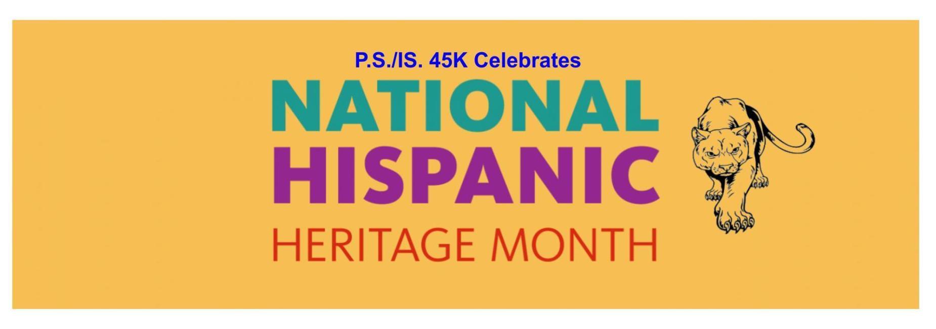 PS./IS. 45K Celebrates National Hispanic Heritage Month