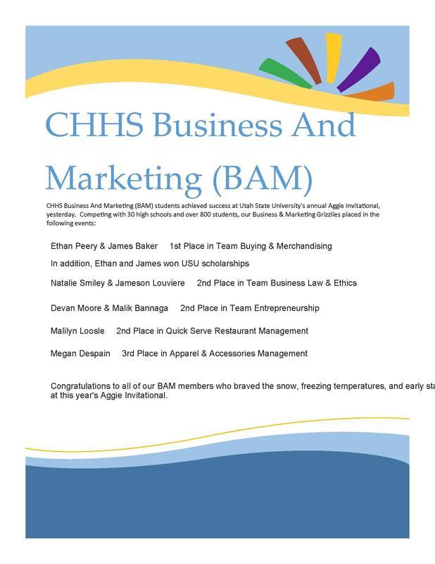 CHHS BAM 2020
