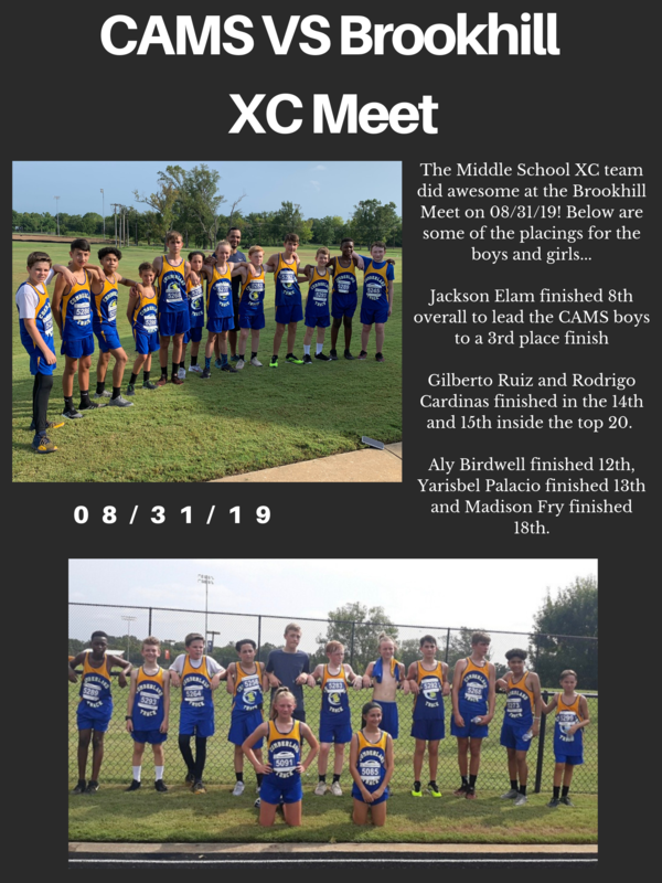 CAMS XC Team VS Brook Hill Featured Photo