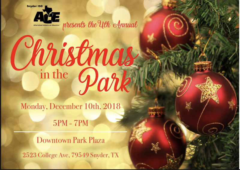 4th annual Christmas in the Park Featured Photo