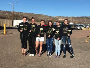 Canon City High School Gymnastics team head to State